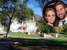 Case de vedete: Iata vila de 2,75 milioane dolari a cuplului Emily Blunt - John Krasinki!