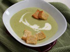 Reteta aromata pentru un pranz perfect: supa de mazare cu sparanghel si tarhon proaspat