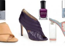 Incalta-te ca o diva! Invata de la designeri cu ce culoare de oja sa combini sandalele