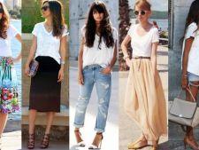 Tricoul alb, cea mai cool piesa vestimentara pe care trebuie sa o ai!