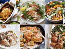 Cum iti asigura un pui cina pentru toata saptamana? 5 preparate diferite pentru fiecare seara