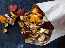 Alternative sanatoase la chipsurile din cartofi: 5 retete inedite si gustoase care nu ingrasa