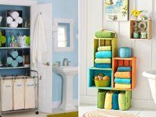 6 moduri ingenioase in care iti poti organiza prosoapele de baie