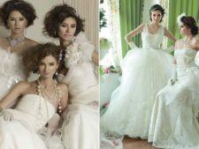 5 dintre cele mai frumoase rochii de mireasa create de designeri romani