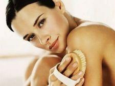 Periajul uscat, metoda simpla si ieftina pentru o piele mereu tanara si fara celulita