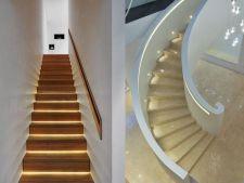 Ai grija pe unde calci! 5 moduri fascinante de a ilumina scarile casei