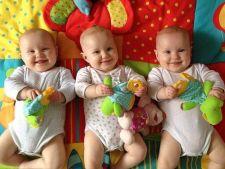 Ele sunt tripletele absolut identice! Nici parintii nu le pot diferentia