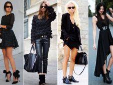 Cum sa arati uimitor in negru din cap pana in picioare