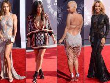 Celebritati aproape nud pe covorul rosu. Iata cum s-au imbracat la MTV Video Music Awards