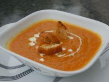 Supa crema de morcovi si mere