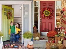 Aranjeaza in note tomnatice intrarea in casa