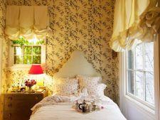 8 dormitoare feminine extrem de romantice