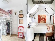 8 dormitoare micute, dar cochet aranjate