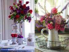 Infrumuseteaza-ti casa cu flori proaspete