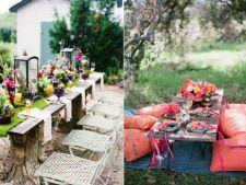 Intim, romantic, rustic. 7 idei de design pentru locul de luat masa din curte