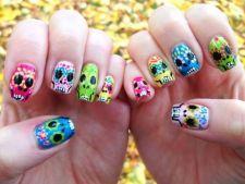 6 manichiuri perfecte pentru Halloween. Cum sa ai unghii