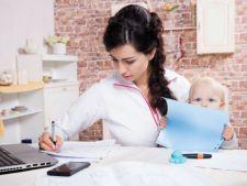 Uimitor! Femeile cu copii se numara printre cei mai dedicati angajati