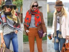 8 moduri sic in care poti purta o esarfa in sezonul rece
