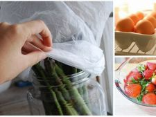 Cum sa pastrezi alimentele proaspete mai mult timp. 12 trucuri uimitoare in bucatarie