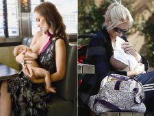 5 mame celebre pe care le poti vedea alaptandu-si copiii la colt de strada