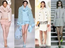 Iarna, designerii vor sa porti nuante pastelate