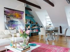 4 idei geniale de amenajare a unui apartament la mansarda