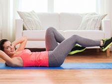 Slabeste acasa! 3 grupe de exercitii pe care le poti face in camera ta