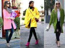 Cum sa porti paltonul colorat iarna aceasta