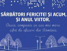 Felicitare Dacia
