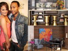 Cum arata casa cu scaune aurite a lui John Legend