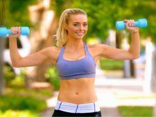 Exercitii simple pentru brate tonifiate