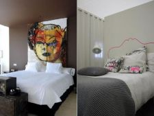 Transforma tablia de pat intr-o piesa cool fara sa cheltuiesti mai nimic
