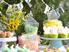 Petrecere de Paste in gradina: 6 idei de decoratiuni handmade