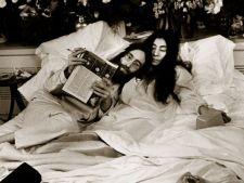John Lennon si Yoko Ono, dragostea care a unit doua continente