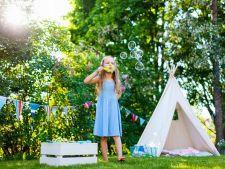 5 moduri inedite ca sa amenajezi o gradina pentru copii