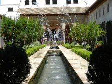 Gradinile Generalife din Granada, locul de odihna preferat al regilor Spaniei
