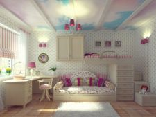 Ce culori trebuie sa aiba camera unei fetite