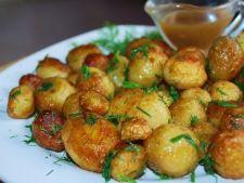 3 retete gustoase cu cartofi noi
