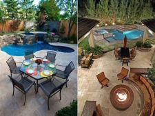 Gradina cu piscina. Cum sa ai propria oaza de relaxare
