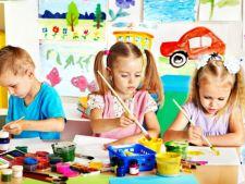 copii picteaza