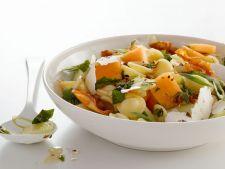 salata paste cu pepene galben