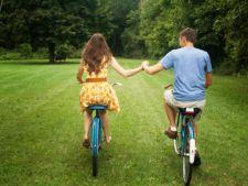 cuplu bicicleta