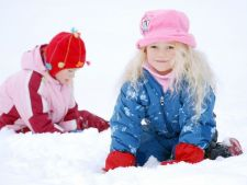 copii iarna
