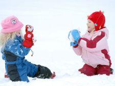 8 activitati pe care le poti face iarna cu copiii