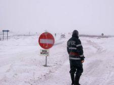 Romania sub zapada! Ce drumuri raman inchise