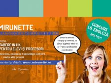 Ultimele zile de inscrieri la Mirunette Language Competition! Castiga o tabara internationala de 2 saptamani in UK!