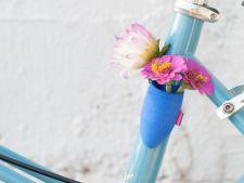 Vaze de flori minuscule, ideale pentru biciclete
