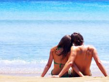 cuplu plaja