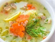 Supa greceasca de pui cu lamaie, perfecta in zilele caniculare