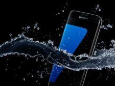 Samsung Galaxy S7 si S7 edge pot fi folosite in piscina